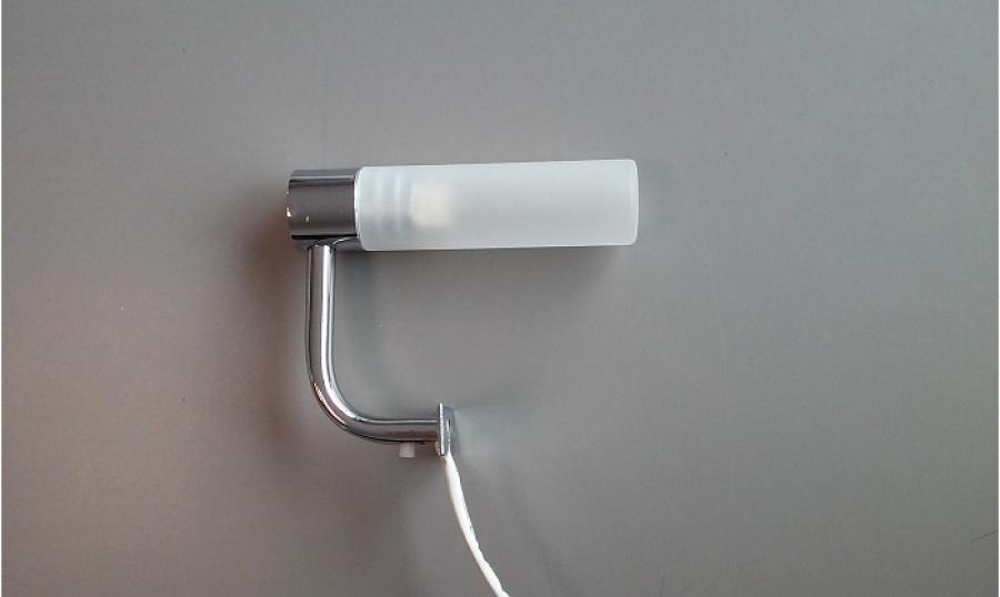 Applique halogène fixation sur panneaux aht sanitairepro