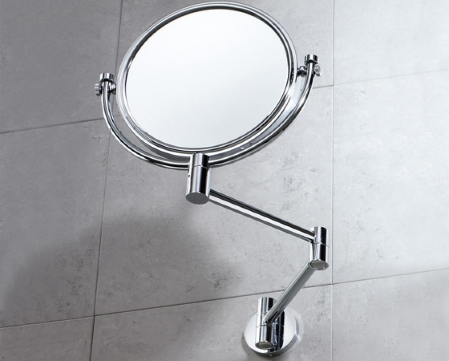 Miroir mural orientable grossissant non grossissant 2104 for Miroir orientable