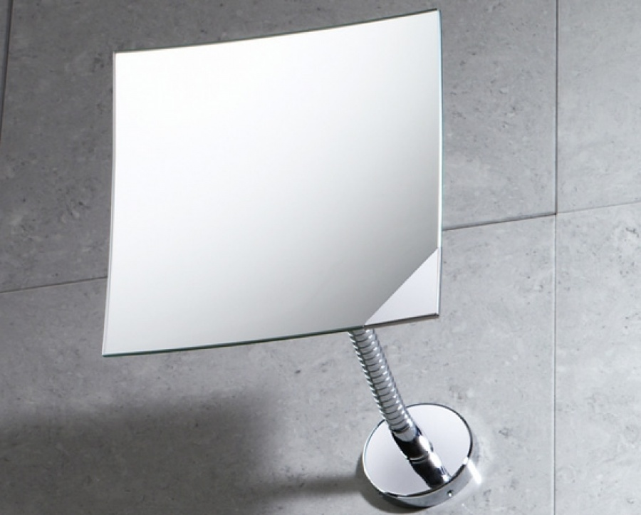 Miroir mural orientable grossissant 2111 bertrand for Miroir orientable