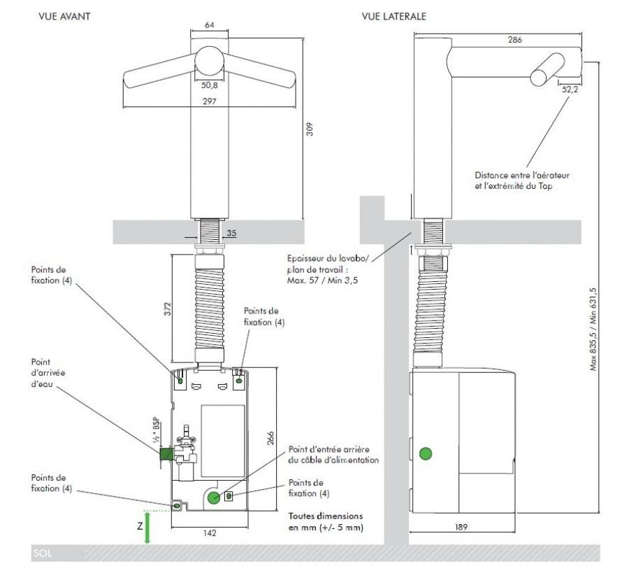 s che mains robinet dyson airblade tap rehauss 1600w ab10 meuble de salle. Black Bedroom Furniture Sets. Home Design Ideas