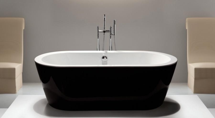 Baignoire lot agana meuble de salle - Baignoire ilot 160x70 ...