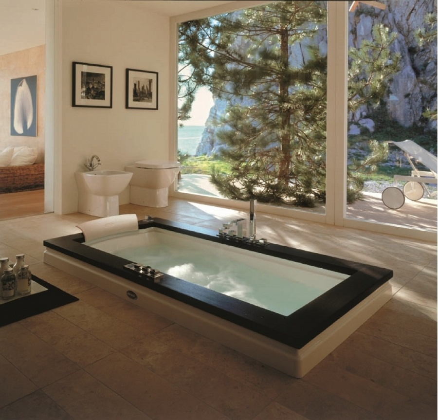 baignoire baln o aura uno 180x90 weng jacuzzi. Black Bedroom Furniture Sets. Home Design Ideas