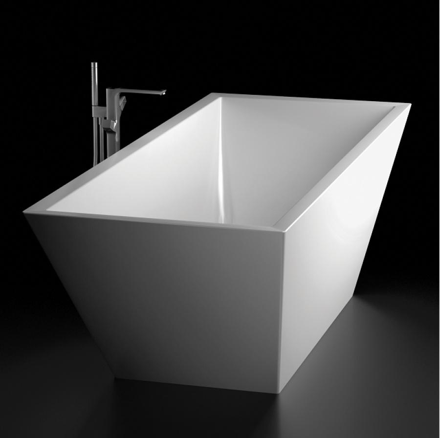 Baignoire il t design cedam 180x75 themis sanitairepro - Baignoire ilot 160x70 ...