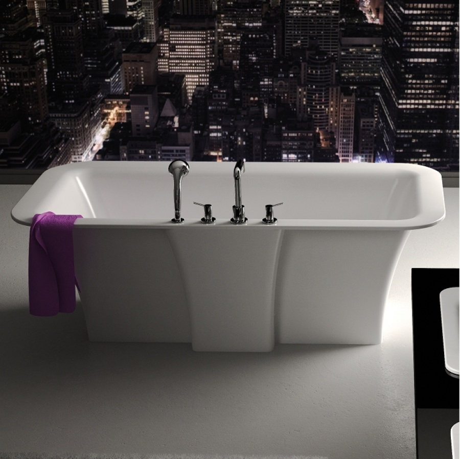 baignoire il t design cedam 180x90 triton meuble de salle de bain douche. Black Bedroom Furniture Sets. Home Design Ideas