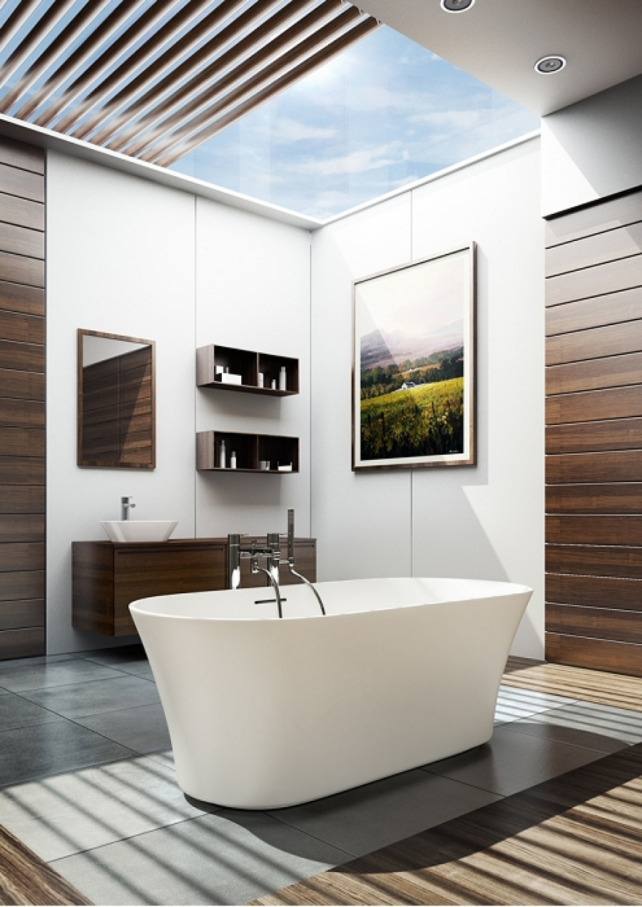 baignoire poser clearwater armonia meuble de salle de bain douche. Black Bedroom Furniture Sets. Home Design Ideas
