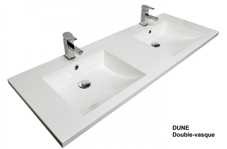 meuble double vasque 140 cm cosy baltique naturel - Meuble Double Vasque 140 Cm