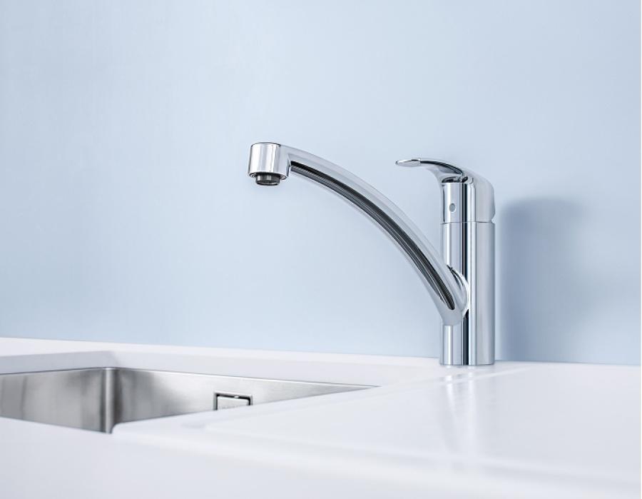 Mitigeur evier eurosmart grohe meuble de salle de bain douche baignoire - Remplacement cartouche thermostatique grohe ...