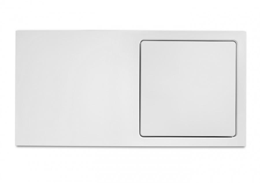 Receveur de douche rectangulaire 120x80 glace avec caillebotis meuble de for Glace rectangulaire