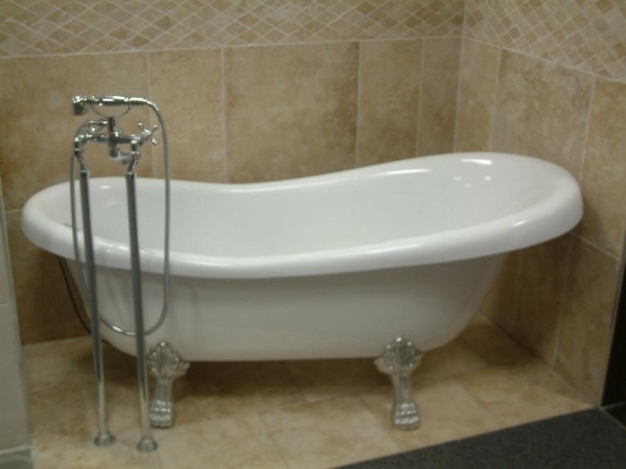 baignoire r tro en acrylique 170x75 meuble de salle de bain douche. Black Bedroom Furniture Sets. Home Design Ideas
