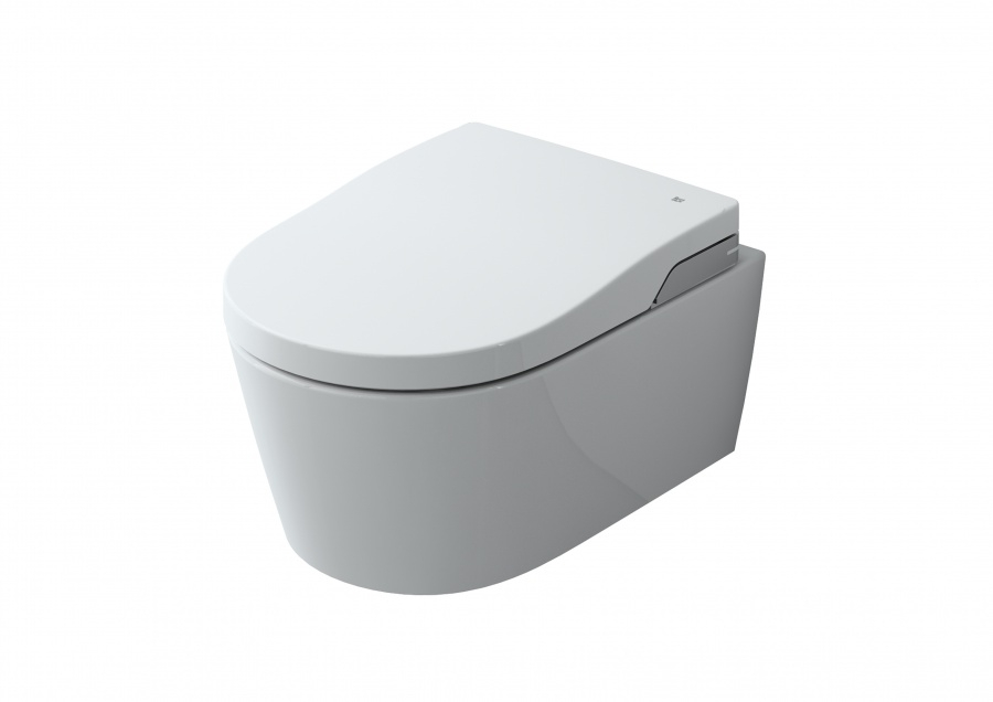 wc japonais suspendu in wash inspira sans bride rimless roca meuble de. Black Bedroom Furniture Sets. Home Design Ideas