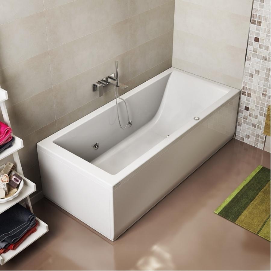Baignoire baln o lagoon 170x70 cm droite jacuzzi meuble d - Baignoire jacuzzi prix ...