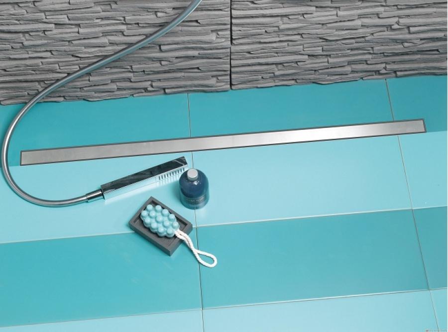 receveur carreler panodur lineal coulement lin aire 80x90 sv meuble de. Black Bedroom Furniture Sets. Home Design Ideas