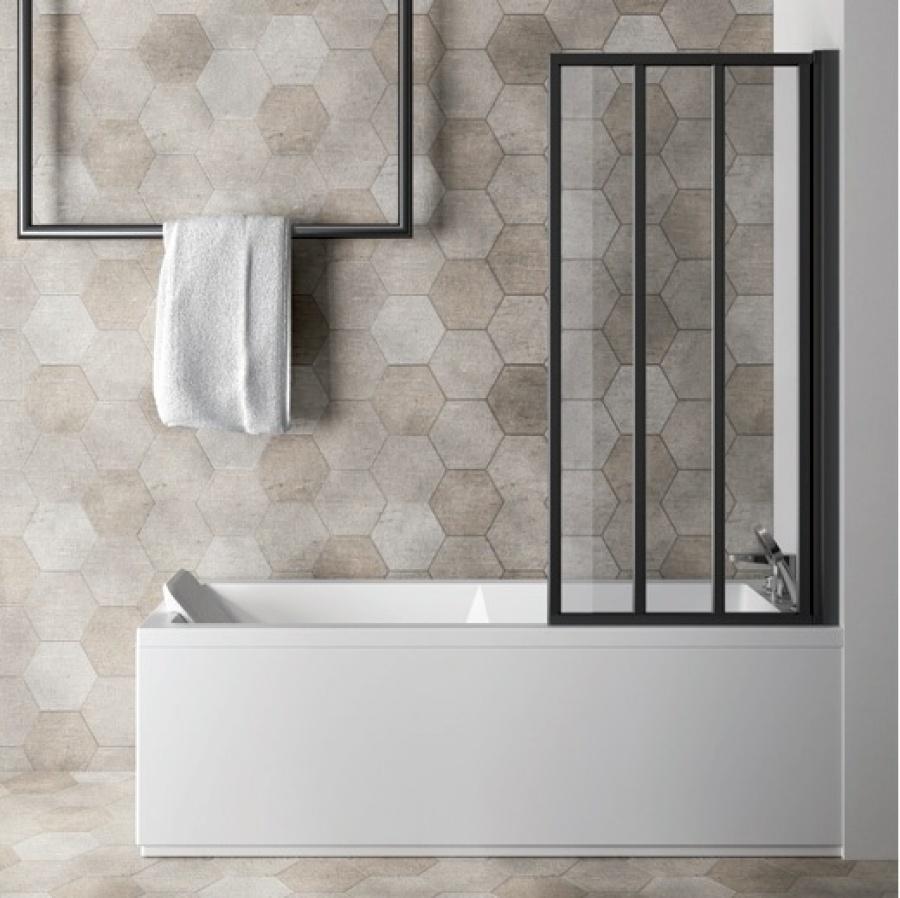paroi de baignoire loft screen pivotante jacuzzi. Black Bedroom Furniture Sets. Home Design Ideas
