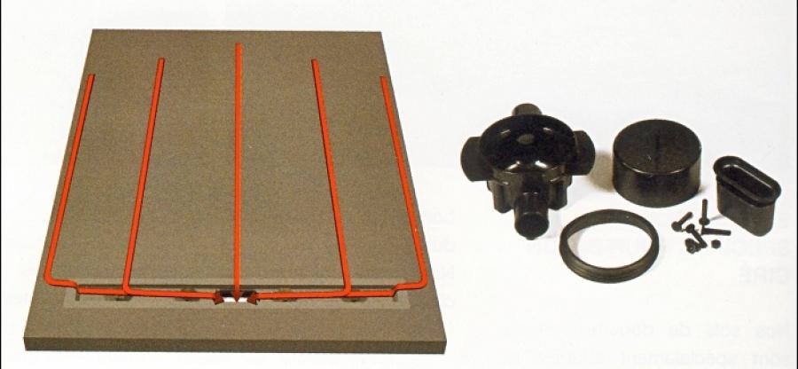 Receveur carreler panodur lineal coulement lin aire 100x150 sh sanitaire - Receveur a carreler ecoulement lineaire ...
