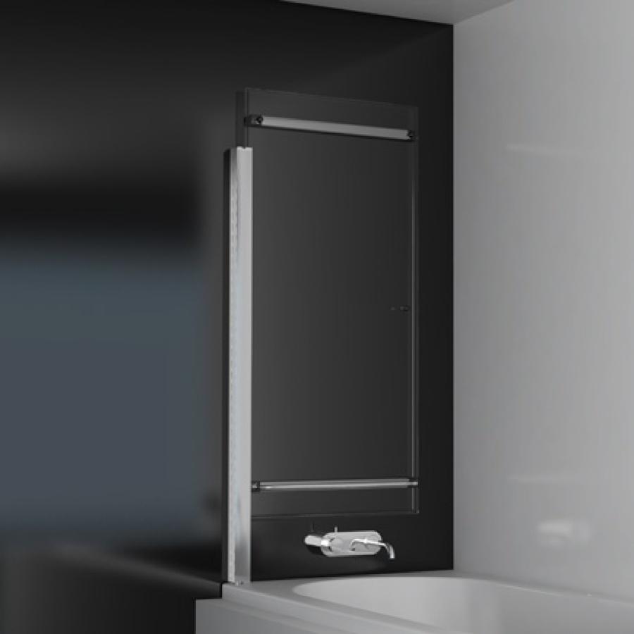 pare baignoire coulissant relevable 125x150cm oural passionata meuble de. Black Bedroom Furniture Sets. Home Design Ideas