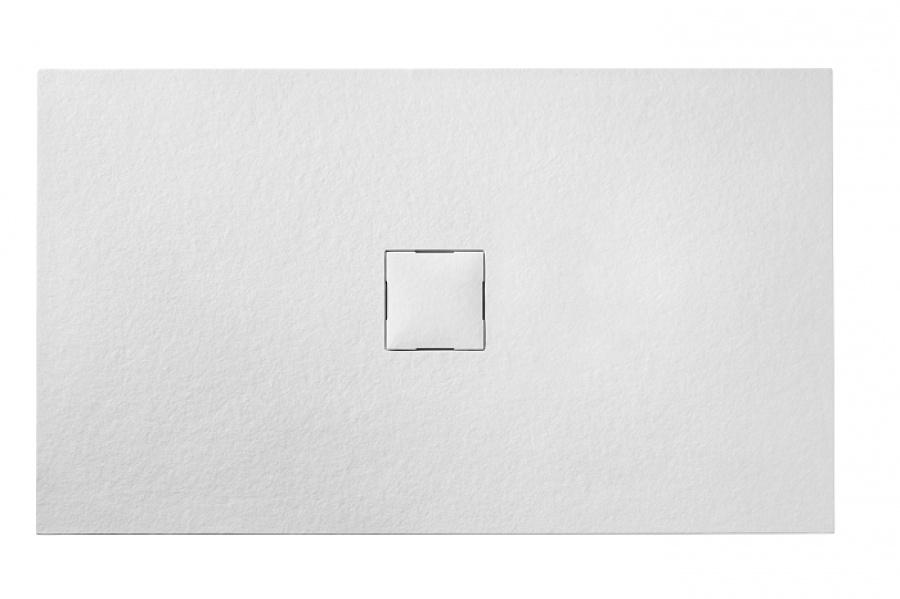 receveur de douche 70x90 piedra blanc. Black Bedroom Furniture Sets. Home Design Ideas