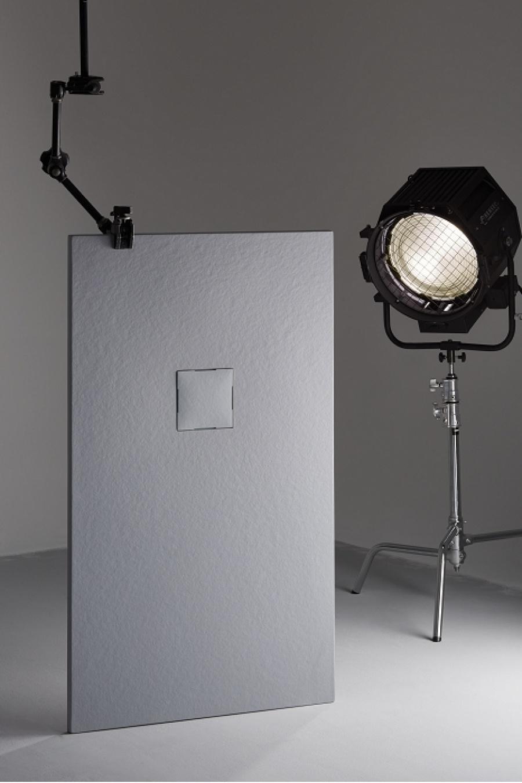 receveur de douche 70x90 piedra cr me. Black Bedroom Furniture Sets. Home Design Ideas