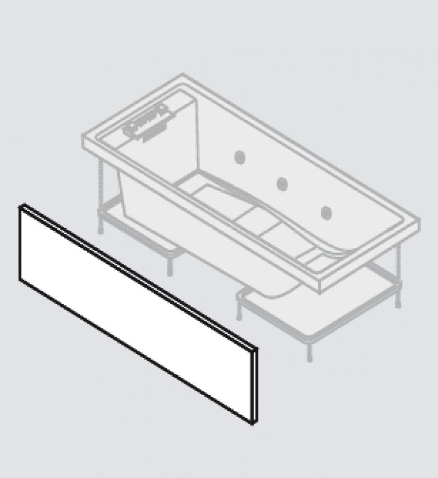 baignoire baln o 170x70 sense 4 dream air 1 tablier acrylique meuble de. Black Bedroom Furniture Sets. Home Design Ideas