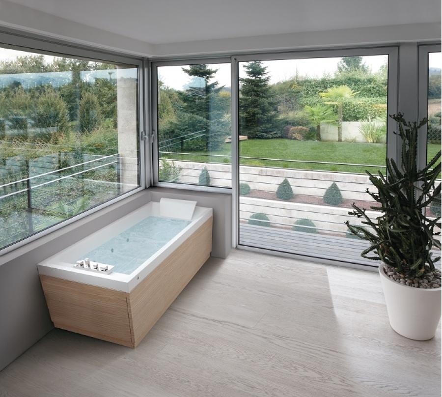 baignoire baln o 170x70 sense 4 dream air sans tablier meuble de salle de. Black Bedroom Furniture Sets. Home Design Ideas