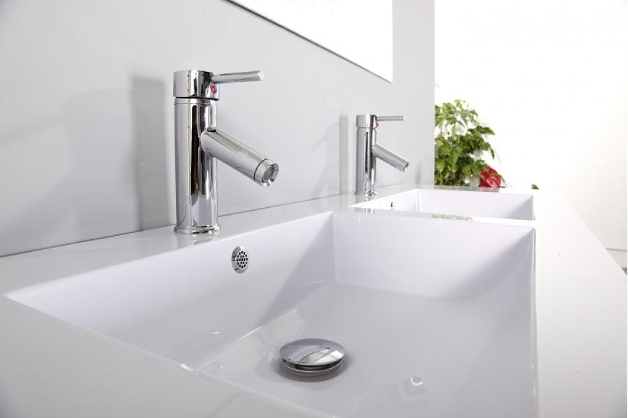meuble double vasque saturn 140cm gris meuble de salle de bain douche. Black Bedroom Furniture Sets. Home Design Ideas
