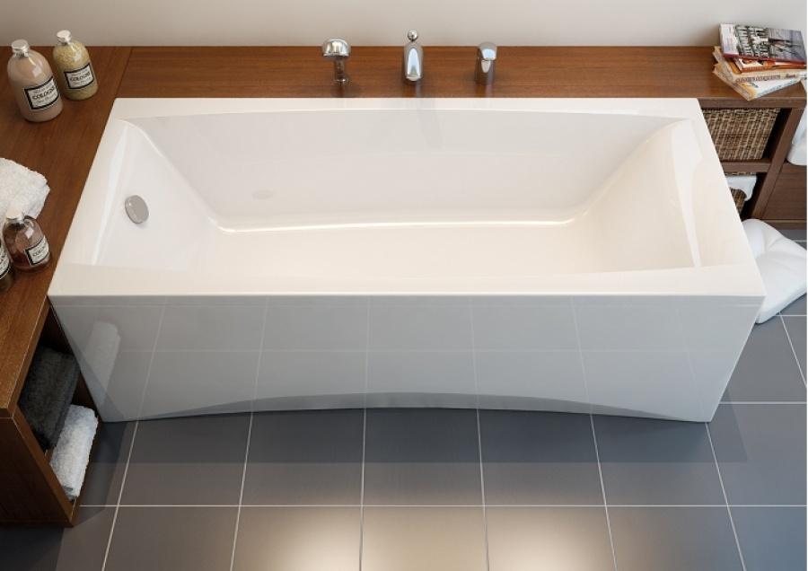 baignoire rectangulaire 180x80 virgo sans tablier. Black Bedroom Furniture Sets. Home Design Ideas