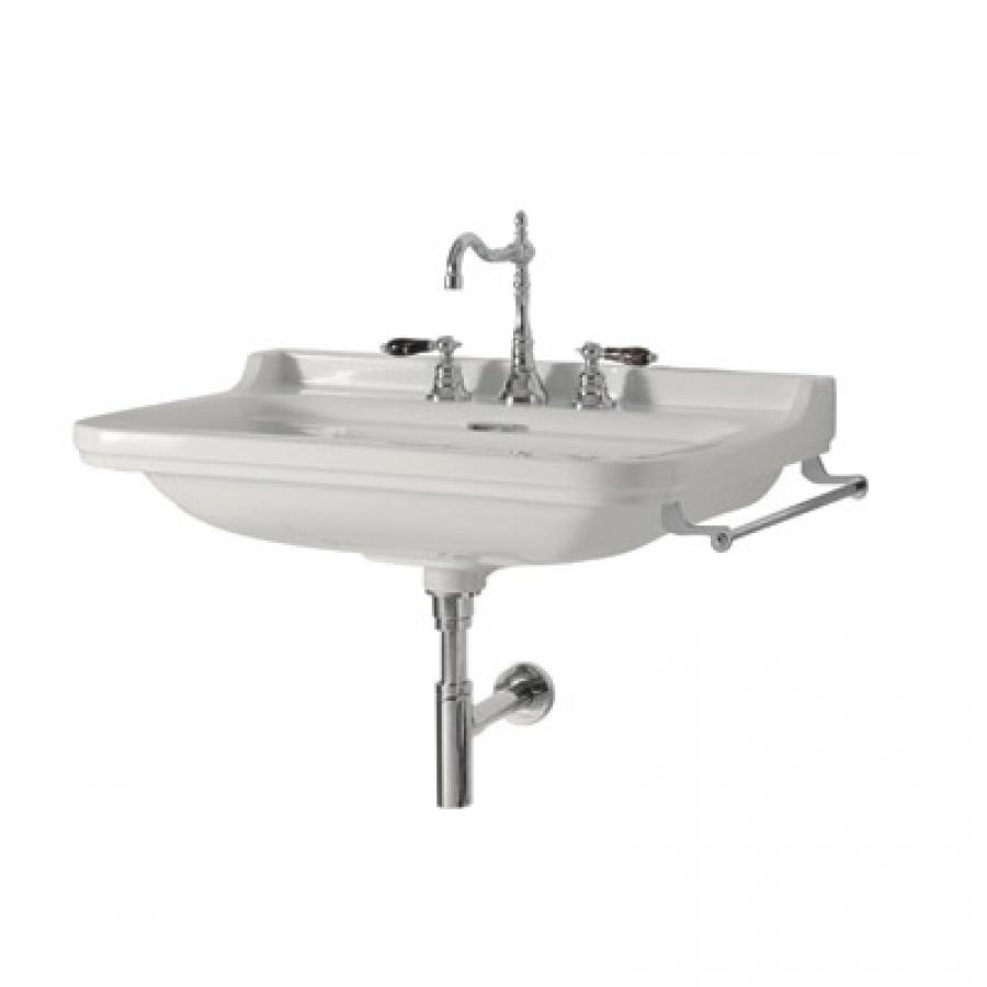 Vasque Rétro céramique WALDORF à suspendre 80 cm - Monotrou ...