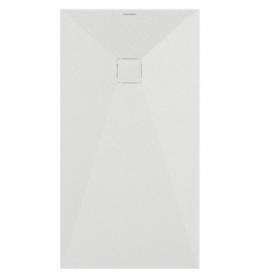 receveur de douche acrysoft zeus blanc 100 x 100 cm meuble de salle de. Black Bedroom Furniture Sets. Home Design Ideas