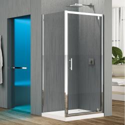 Porte de douche pivotante seule Zephyros G