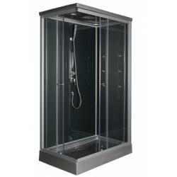 Cabine de douche rectangulaire 120x80cm Solea**