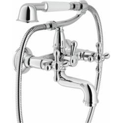 Mélangeur bain-douche rétro chromé Grazia GRC5001/1CR