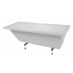 Baignoire rectangulaire CALOS 180x80 sans tablier*