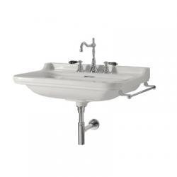 Vasque Rétro céramique WALDORF à suspendre 60 cm - 3 trous