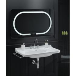 Vasque Rétro céramique WALDORF à suspendre 100 cm - 3 trous