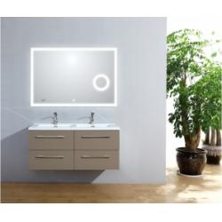 Meuble double vasque 120cm Saturn 2.0 Taupe