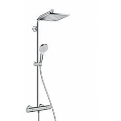 Colonne de douche Showerpipe Crometta E 240 1jet - 27271000*