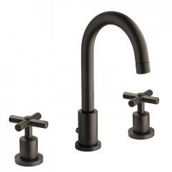 Mitigeur lavabo 3 trous BLACKMAT Executive - ONDYNA