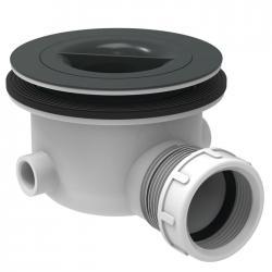 Bonde grise sans capot Ø 90 mm pour receveur Ultra FLat S - K936367