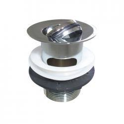 Bonde de lavabo à clapet rotatif encastrée CLEARWATER - W18