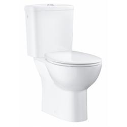 WC à poser Bau Ceramic sans bride avec abattant frein de chute