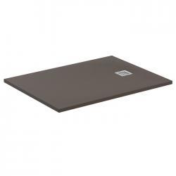 Receveur de douche Ultra Flat S - Moka Absolu - 100x70 cm