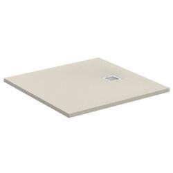 Receveur de douche Ultra Flat S - Beige Sable - 80x80 cm