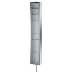 Armoire tournante en Inox avec miroir - PK51506