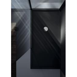 Receveur Olympic Plus Noir - Hauteur 12.5 cm - 110x70 cm