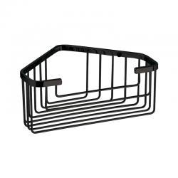 Étagère d'angle Noir mat pour douche - Gedy - 2483