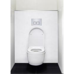 Habillage décoratif Bâti WC DECOFAST Élégance - Blanc Satiné