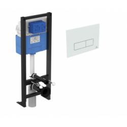 Bâti-Support WC autoportant PROSYS 120 avec plaque de commande