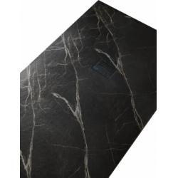 Receveur de douche MIRAGE Marbre Noir - 70x100 cm