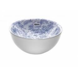 Vasque BARI DECO Toile de Jouy Bleu