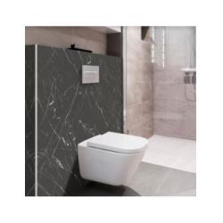 Habillage décoratif Bâti WC DECOFAST Classique Chic - Nero