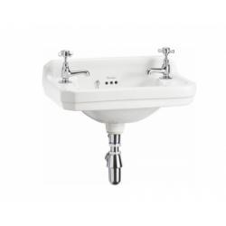Lave-mains rectangulaire Edouardien - 2 Trous
